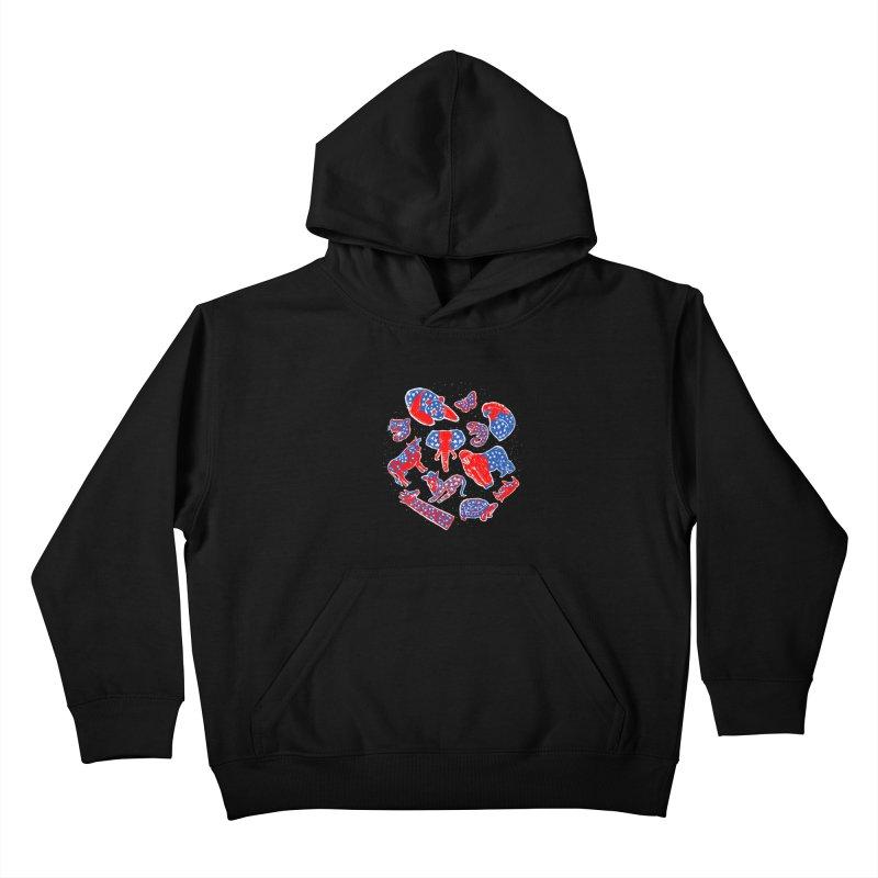 AMERICANIMAL Kids Pullover Hoody by kooky love's Artist Shop