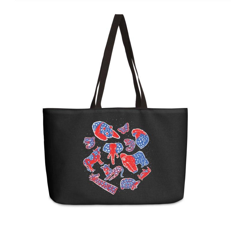 AMERICANIMAL Accessories Weekender Bag Bag by kooky love's Artist Shop