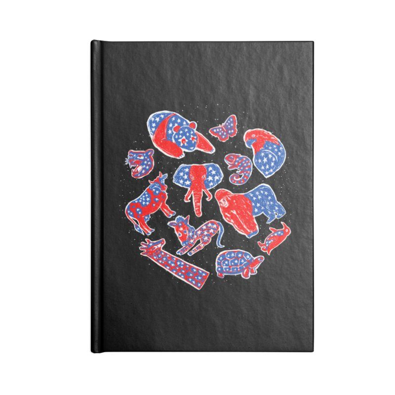 AMERICANIMAL Accessories Blank Journal Notebook by kooky love's Artist Shop