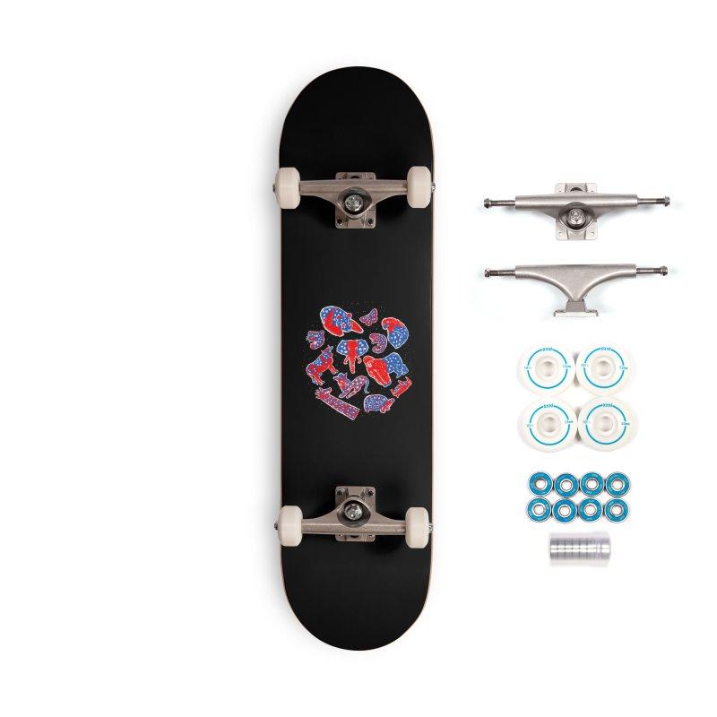 AMERICANIMAL Accessories Complete - Basic Skateboard by kooky love's Artist Shop