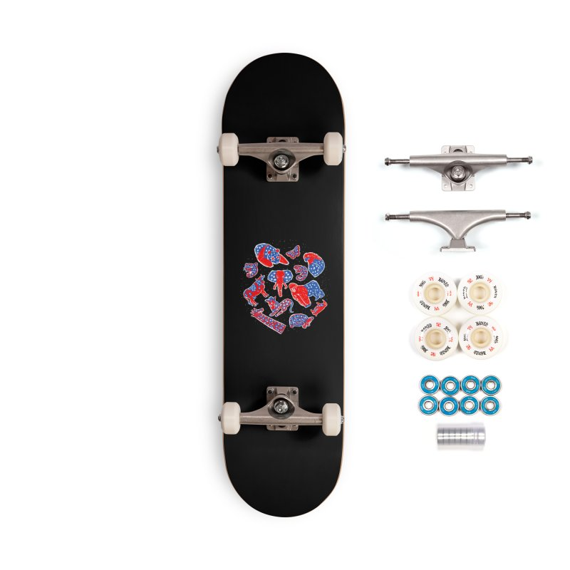 AMERICANIMAL Accessories Complete - Premium Skateboard by kooky love's Artist Shop