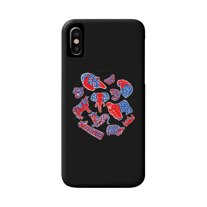 AMERICANIMAL Accessories Phone Case by kooky love's Artist Shop