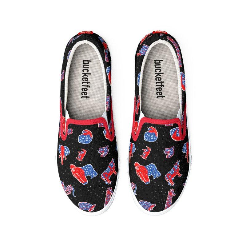 AMERICANIMAL Women's Shoes by kooky love's Artist Shop