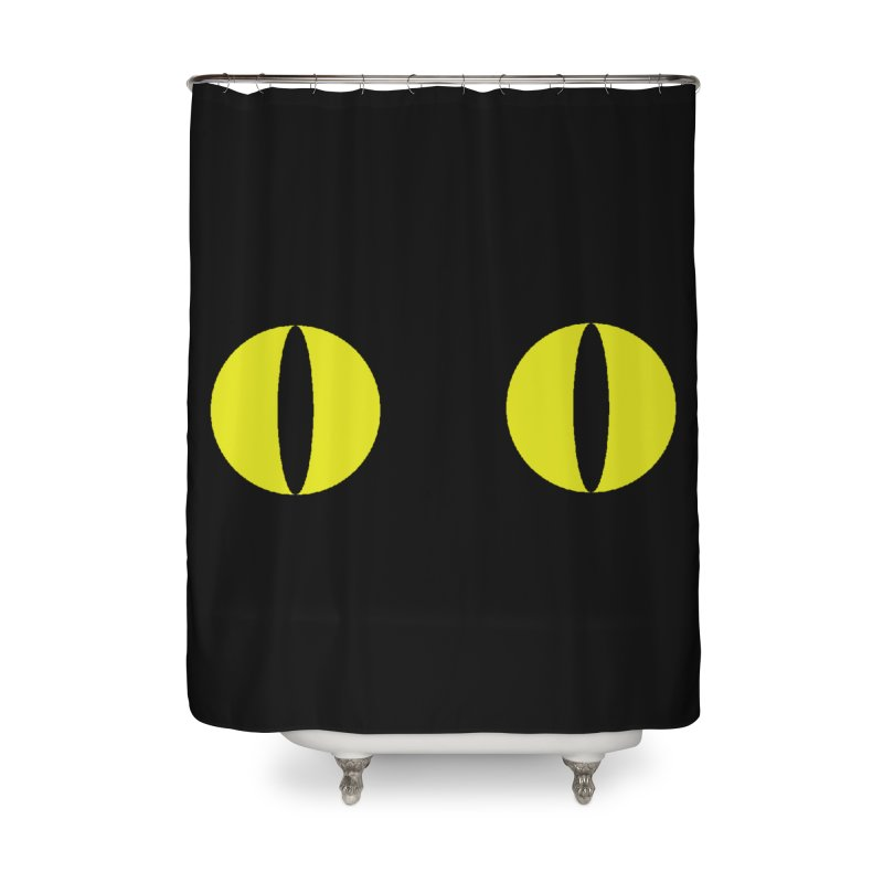 Polcat Dots Home Shower Curtain by kooky love's Artist Shop