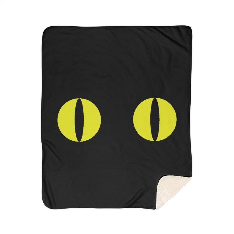 Polcat Dots Home Sherpa Blanket Blanket by kooky love's Artist Shop