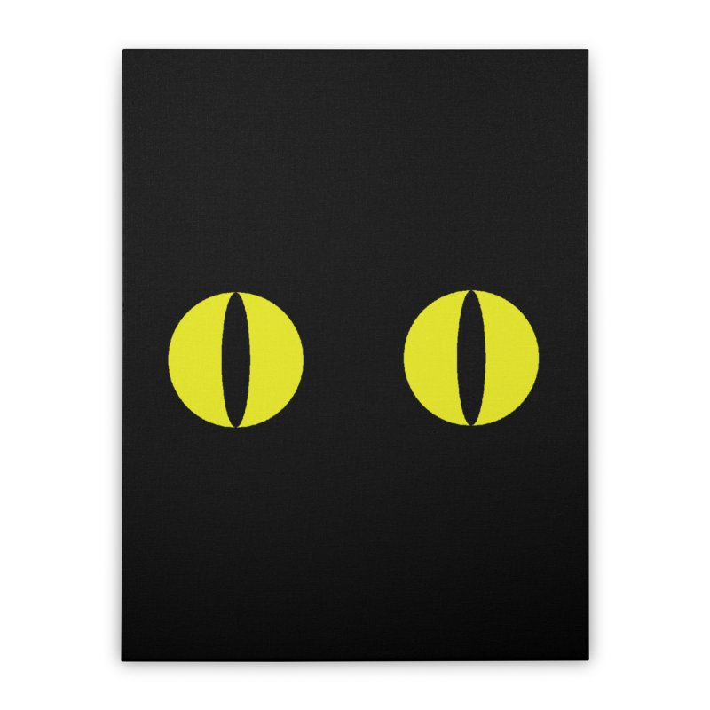 Polcat Dots Home Stretched Canvas by kooky love's Artist Shop