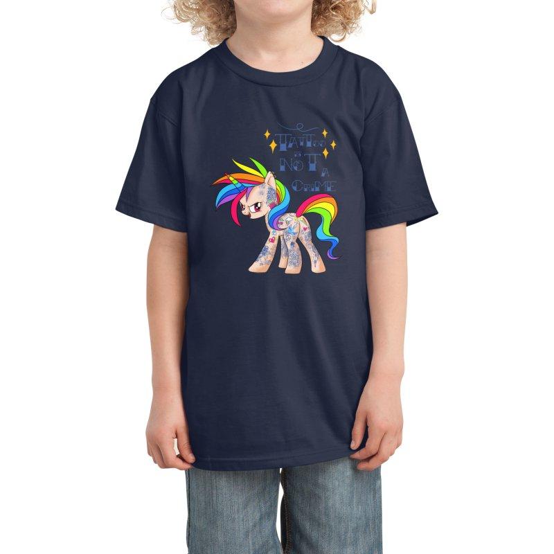 Tattoo is Not A Crime Kids T-Shirt by kooky love's Artist Shop