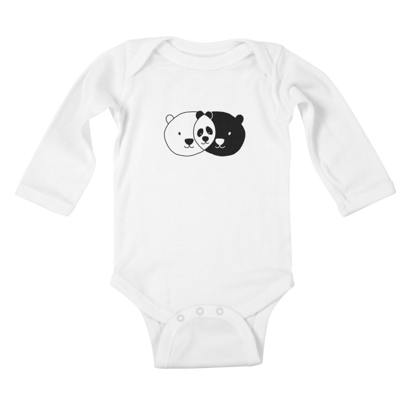 Vennda Kids Baby Longsleeve Bodysuit by kooky love's Artist Shop