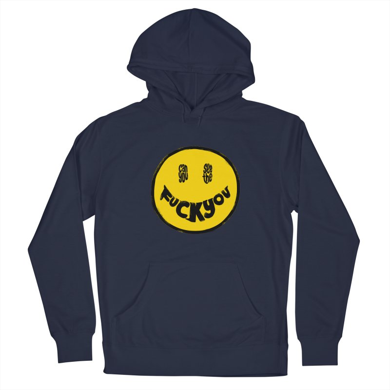 In My Smile Women's French Terry Pullover Hoody by kooky love's Artist Shop