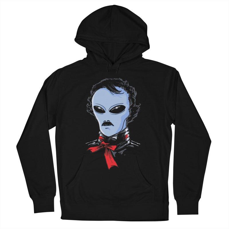 Edgar Alien Poe Women's French Terry Pullover Hoody by kooky love's Artist Shop