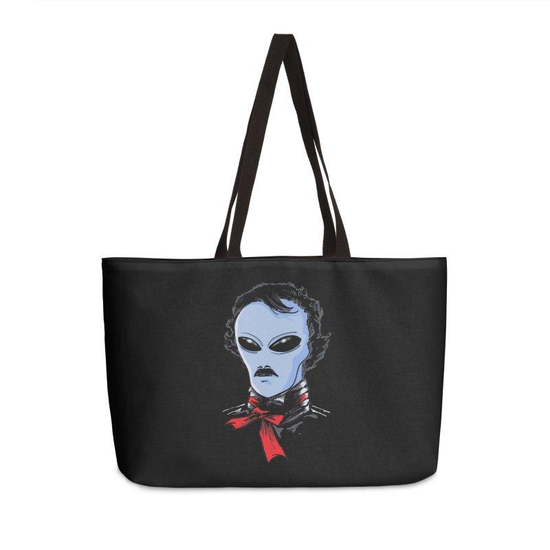 Edgar Alien Poe Accessories Weekender Bag Bag by kooky love's Artist Shop