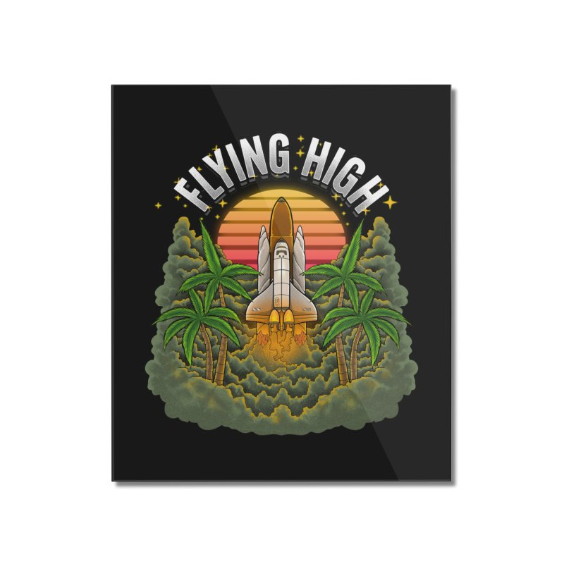 Flying High Home Mounted Acrylic Print by kooky love's Artist Shop