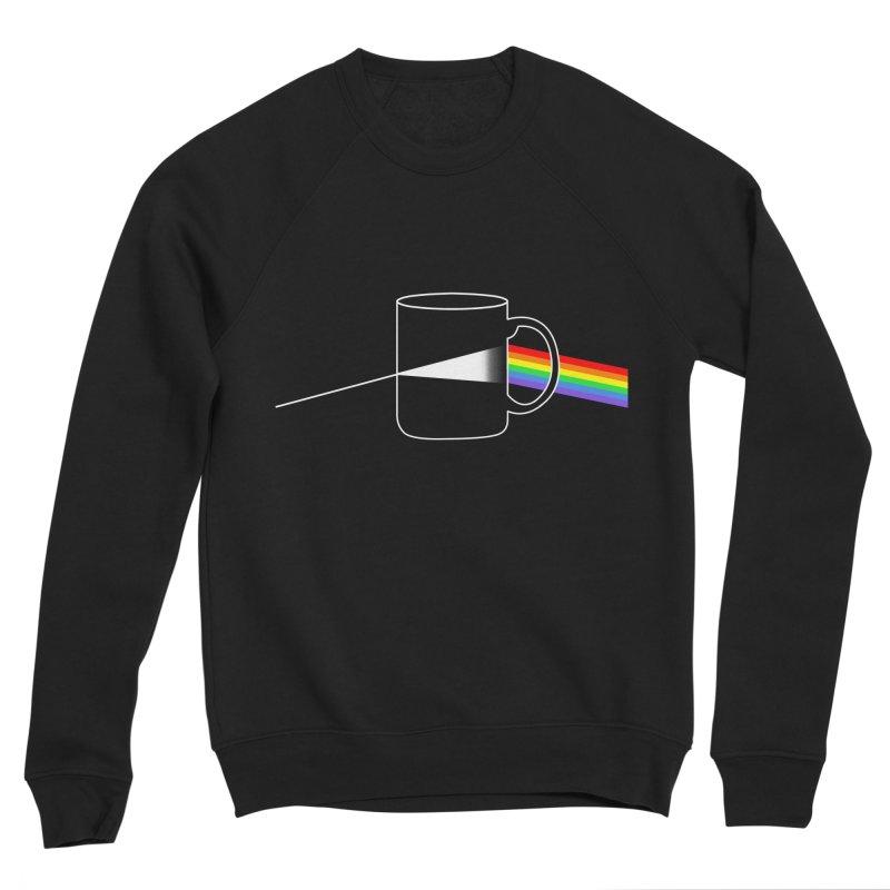 Dark Side of the Coffee Men's Sponge Fleece Sweatshirt by kooky love's Artist Shop