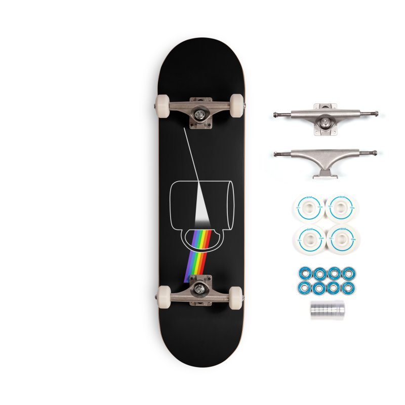Dark Side of the Coffee Accessories Complete - Basic Skateboard by kooky love's Artist Shop