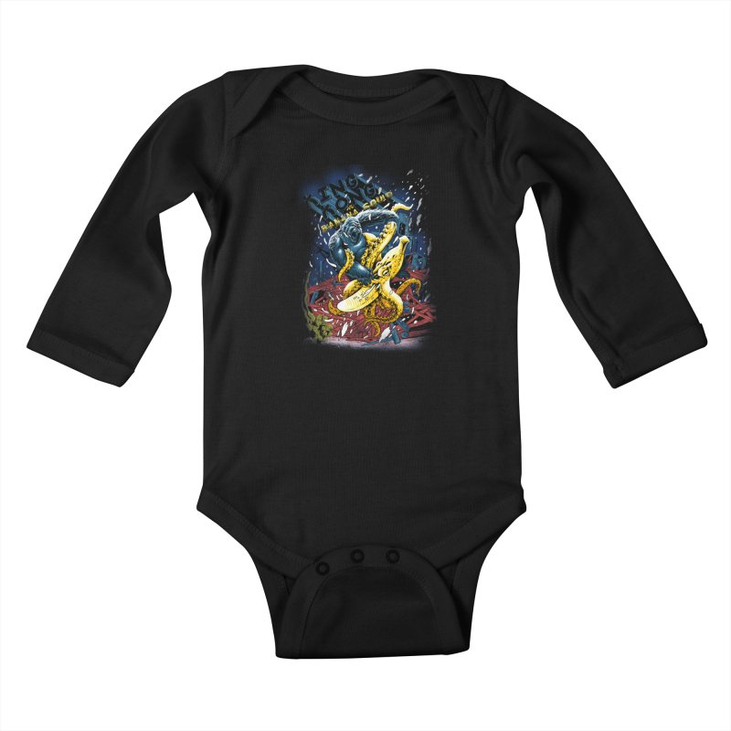 Versus Kids Baby Longsleeve Bodysuit by kooky love's Artist Shop