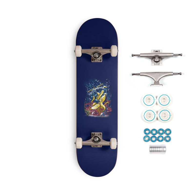 Versus Accessories Complete - Basic Skateboard by kooky love's Artist Shop