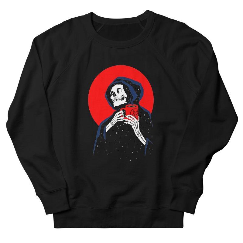 Dark Coffee Women's French Terry Sweatshirt by kooky love's Artist Shop