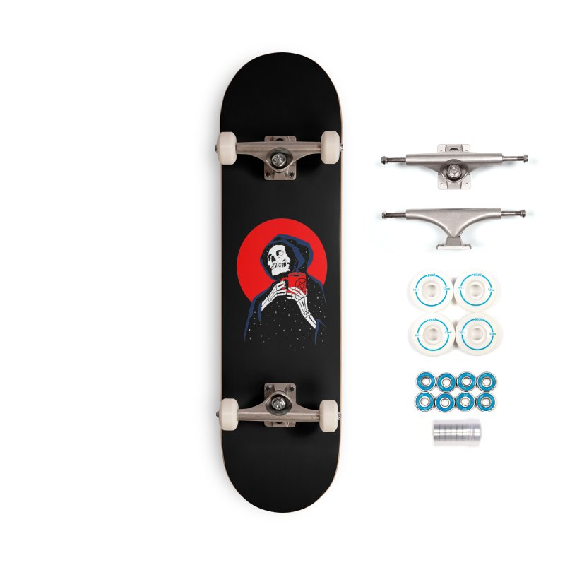 Dark Coffee Accessories Complete - Basic Skateboard by kooky love's Artist Shop
