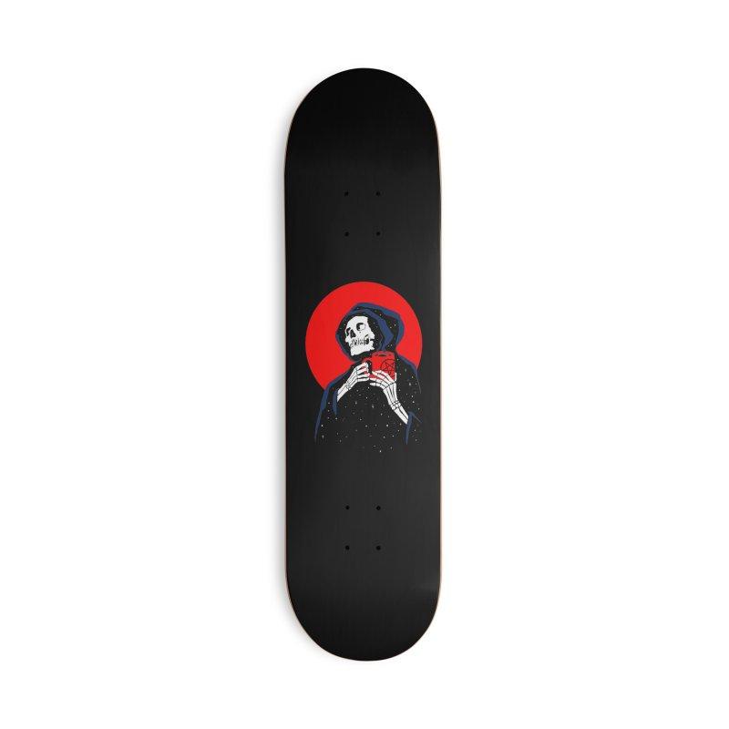 Dark Coffee Accessories Deck Only Skateboard by kooky love's Artist Shop
