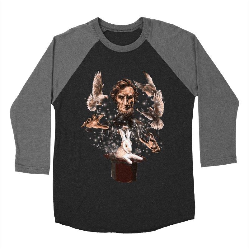 Abecadabra Women's Baseball Triblend Longsleeve T-Shirt by kooky love's Artist Shop