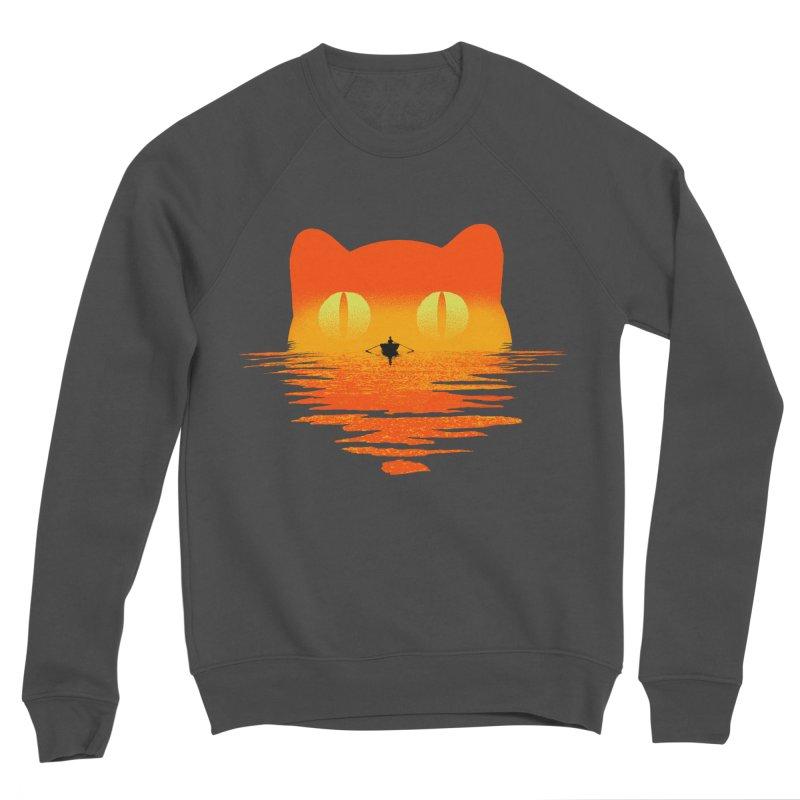 Suncat Men's Sponge Fleece Sweatshirt by kooky love's Artist Shop