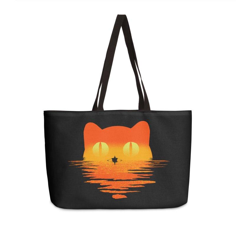 Suncat Accessories Weekender Bag Bag by kooky love's Artist Shop