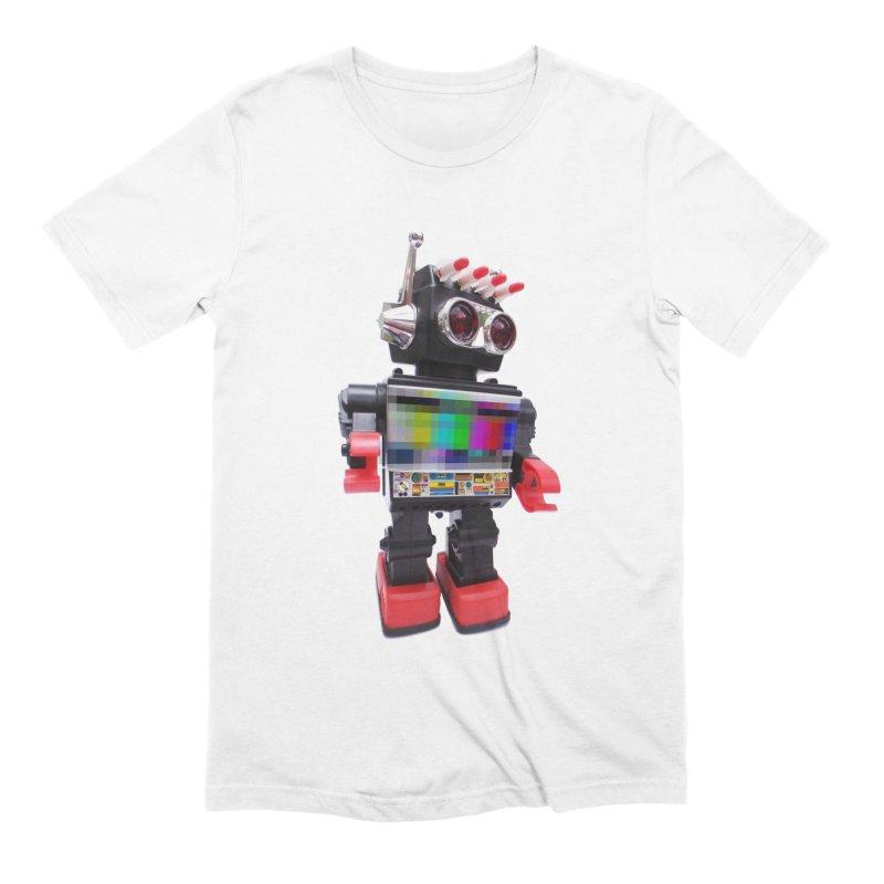 Bleep Men's Extra Soft T-Shirt by kooky love's Artist Shop
