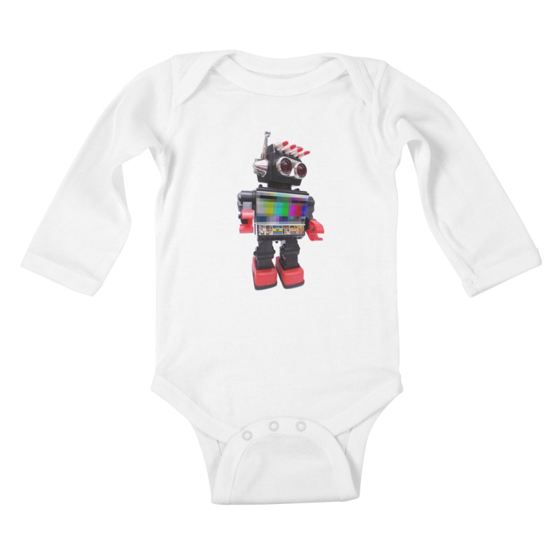 Bleep Kids Baby Longsleeve Bodysuit by kooky love's Artist Shop