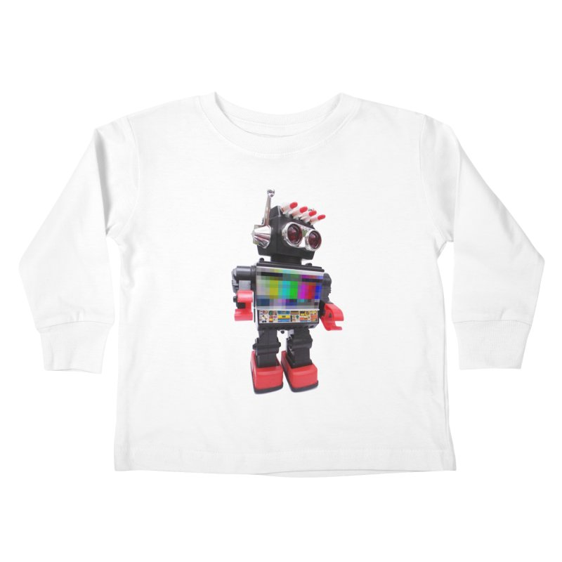 Bleep Kids Toddler Longsleeve T-Shirt by kooky love's Artist Shop