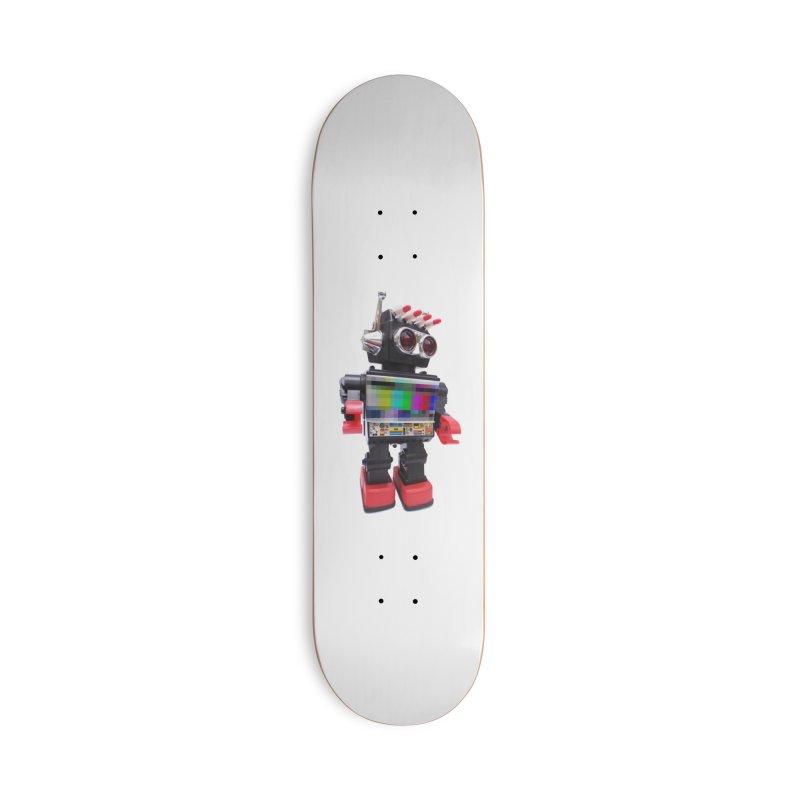 Bleep Accessories Deck Only Skateboard by kooky love's Artist Shop