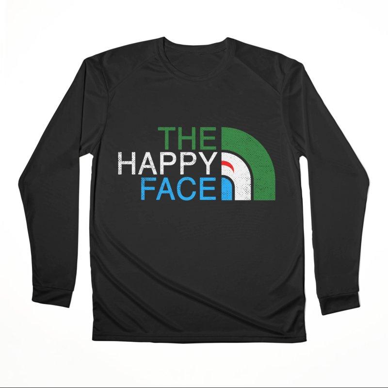 THE HAPPY FACE Women's Performance Unisex Longsleeve T-Shirt by kooky love's Artist Shop