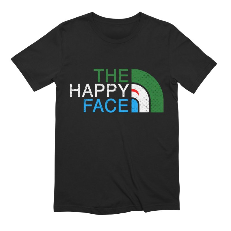 THE HAPPY FACE Men's Extra Soft T-Shirt by kooky love's Artist Shop