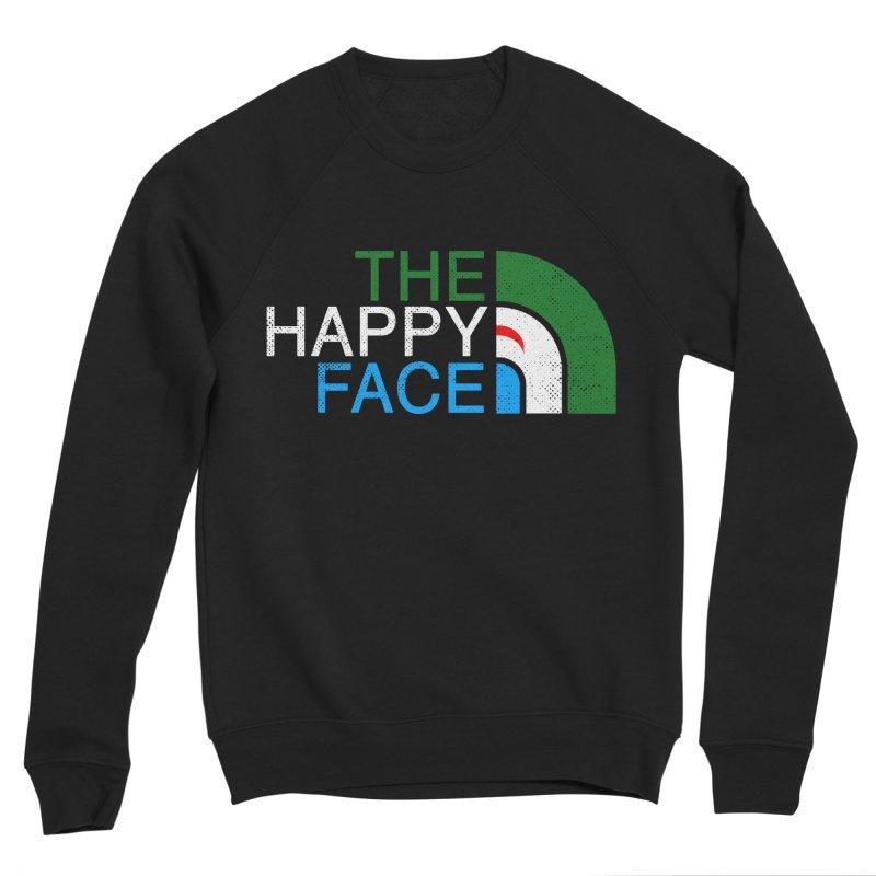THE HAPPY FACE Men's Sponge Fleece Sweatshirt by kooky love's Artist Shop
