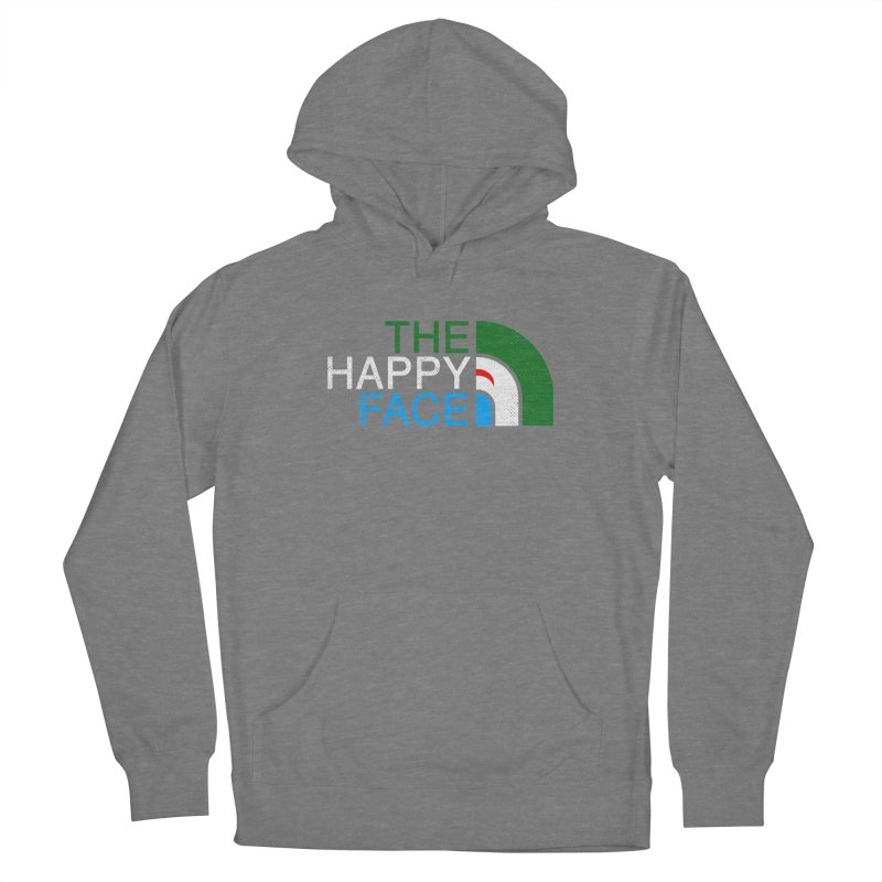 THE HAPPY FACE Women's French Terry Pullover Hoody by kooky love's Artist Shop