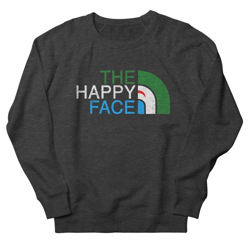 THE HAPPY FACE Women's French Terry Sweatshirt by kooky love's Artist Shop
