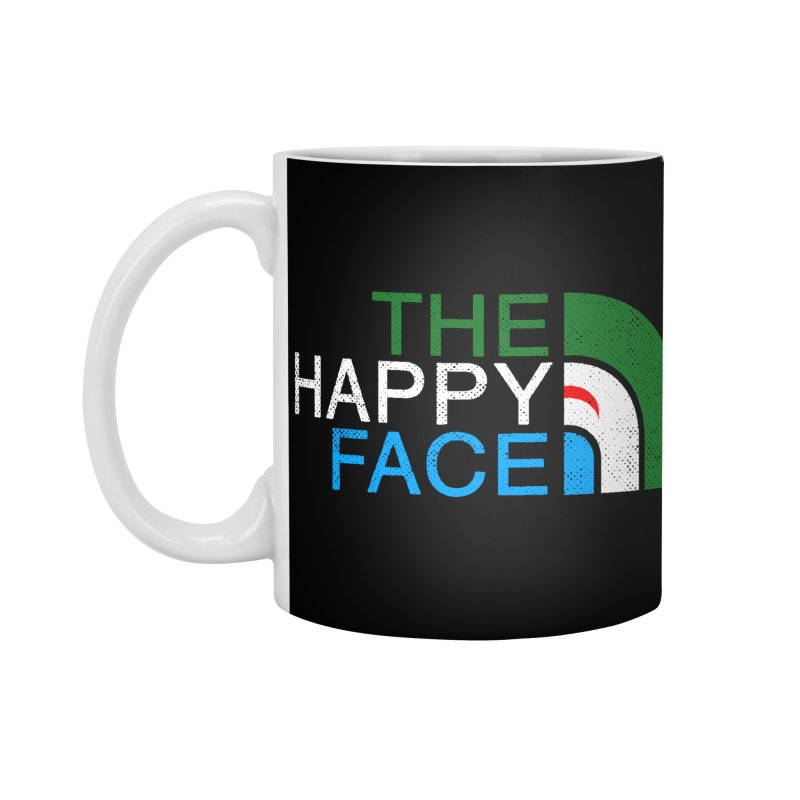 THE HAPPY FACE Accessories Standard Mug by kooky love's Artist Shop