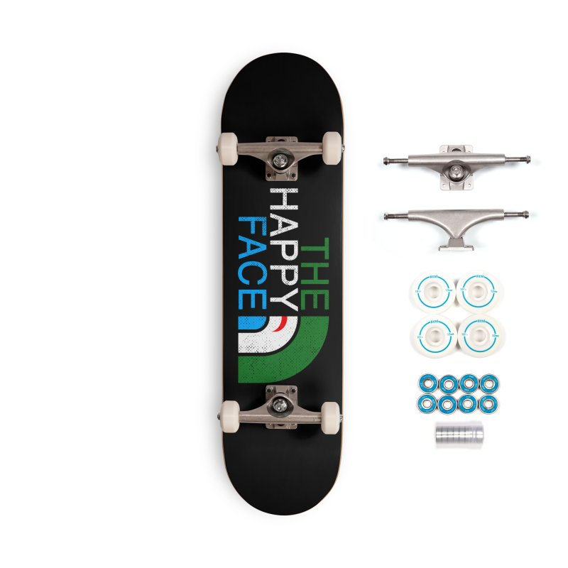 THE HAPPY FACE Accessories Complete - Basic Skateboard by kooky love's Artist Shop
