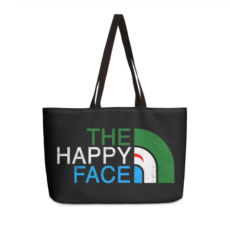 THE HAPPY FACE Accessories Weekender Bag Bag by kooky love's Artist Shop