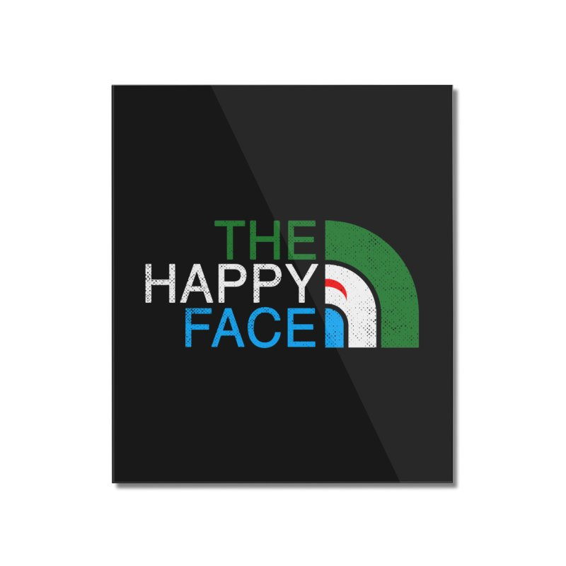 THE HAPPY FACE Home Mounted Acrylic Print by kooky love's Artist Shop
