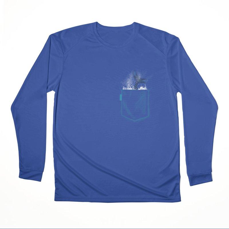 Meanwhale in my pocket Men's Longsleeve T-Shirt by kooky love's Artist Shop
