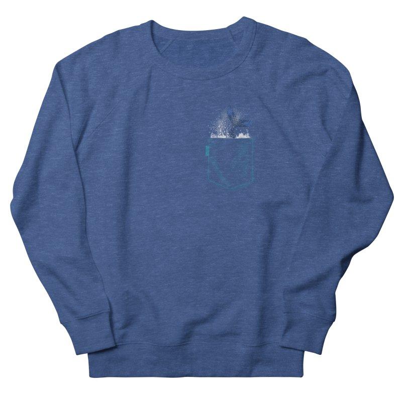 Meanwhale in my pocket Men's Sweatshirt by kooky love's Artist Shop