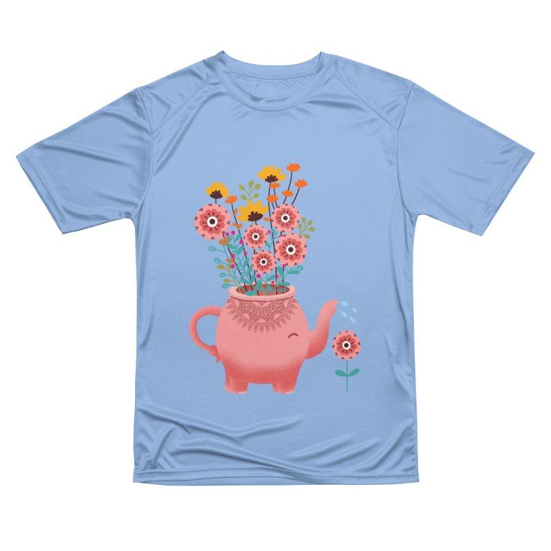 Elephant Flower Men's Performance T-Shirt by kooky love's Artist Shop