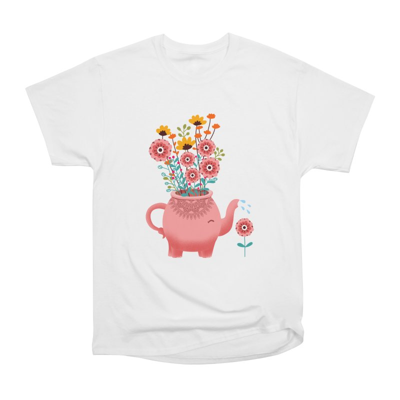 Elephant Flower Women's T-Shirt by kooky love's Artist Shop