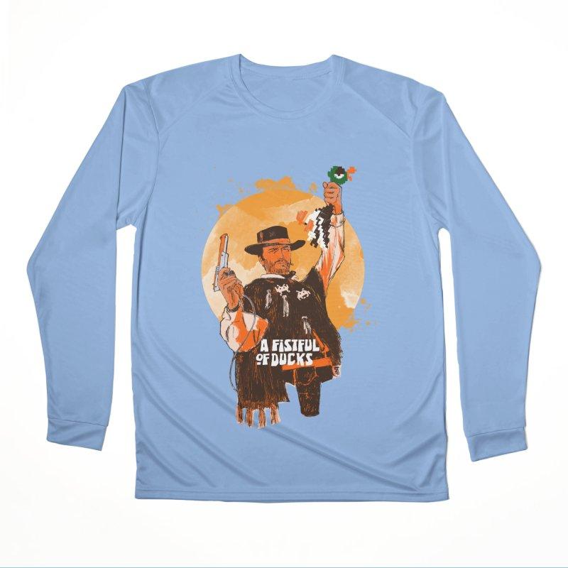 A Fistful of Ducks Men's Longsleeve T-Shirt by kooky love's Artist Shop