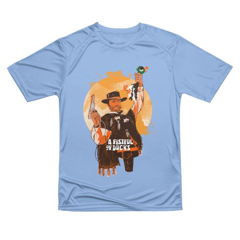 A Fistful of Ducks Women's Performance Unisex T-Shirt by kooky love's Artist Shop