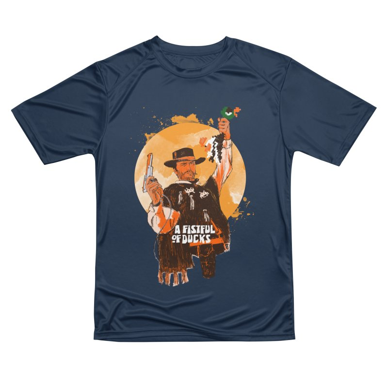 A Fistful of Ducks Men's Performance T-Shirt by kooky love's Artist Shop