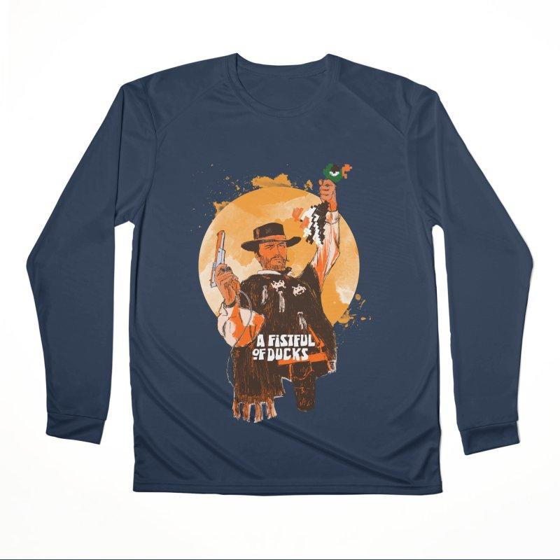 A Fistful of Ducks Men's Performance Longsleeve T-Shirt by kooky love's Artist Shop