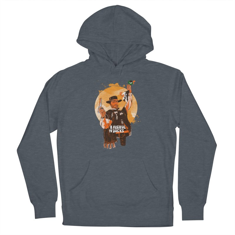 A Fistful of Ducks Women's French Terry Pullover Hoody by kooky love's Artist Shop