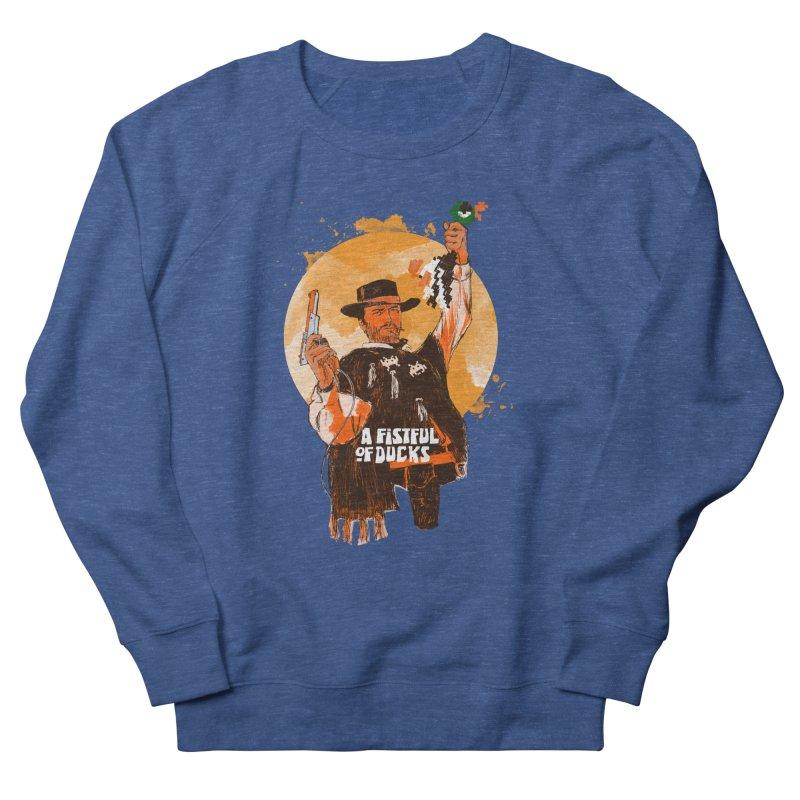 A Fistful of Ducks Women's French Terry Sweatshirt by kooky love's Artist Shop