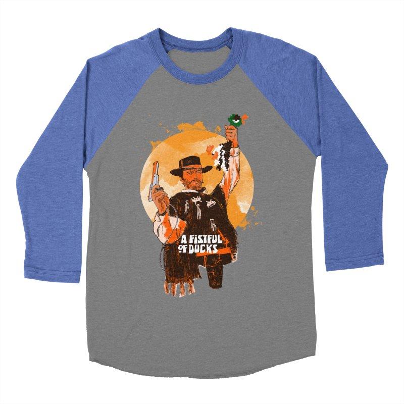 A Fistful of Ducks Women's Baseball Triblend Longsleeve T-Shirt by kooky love's Artist Shop